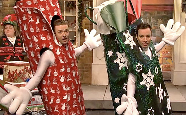 SNL: JT and Jimmy Fallon rap up a great Xmas special - 101.9 FM ...
