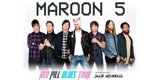 Maroon 5 Announces 2018 'Red Pill Blues Tour' - 101.9 FM ...